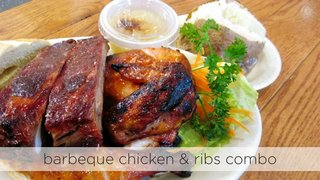 Barbeque Chicken & Ribs Combo