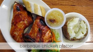 Barbeque Chicken Platter