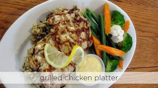 Grilled Chicken Platter